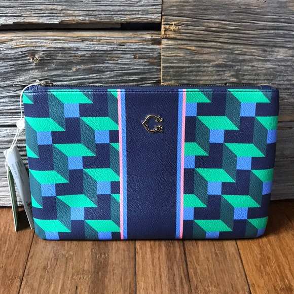 💚💙C. Wonder Limited - NWT💙💚 Large zipper pouch